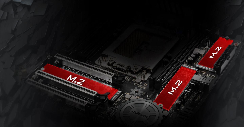Buy the ASRock X399M Taichi mATX Form Factor For AMD Ryzen