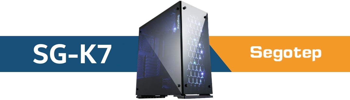 Picture of Segotep SG-K7 RGB Gaming PC  case at PB Tech