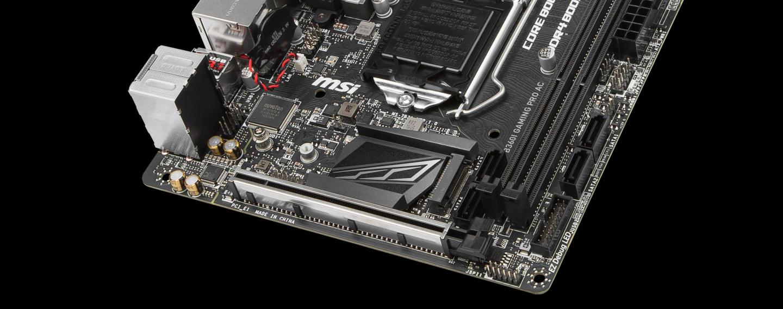Buy the MSI B360I GAMING PRO AC ITX LGA-1151 INTEL