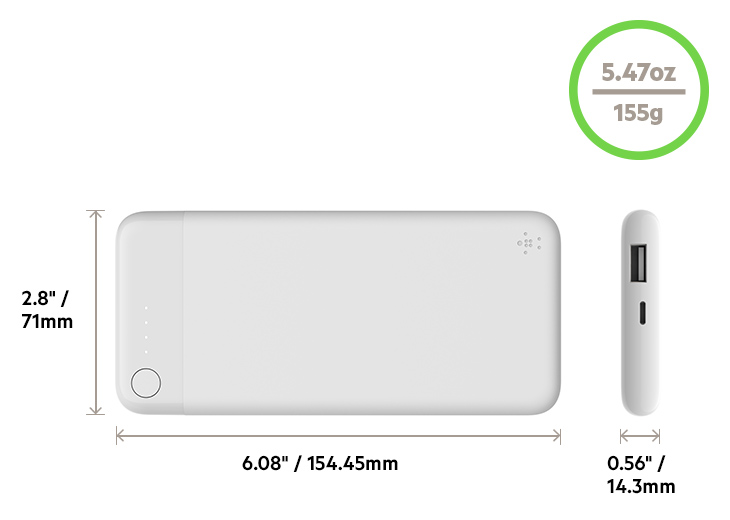BOOST???CHARGE Power Bank diagram