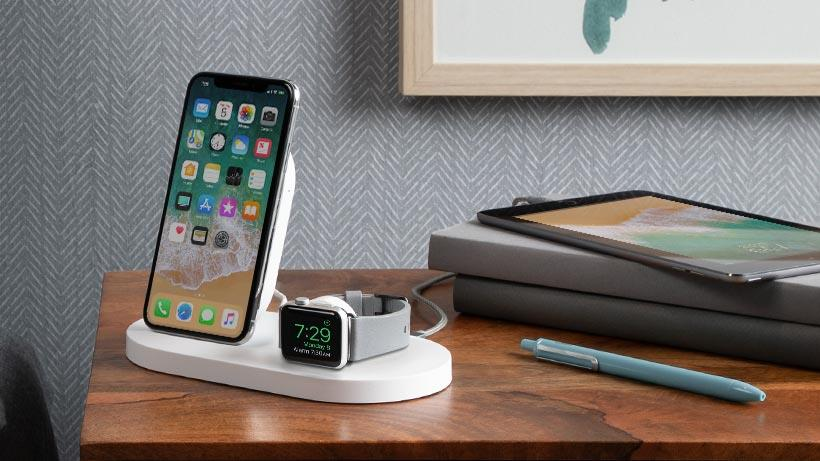 info for 2f95d f10ad Buy the Belkin Boostup Wireless Charging Dock, for Apple, iPhone + Apple  Watch... ( F8J235auBLK ) online