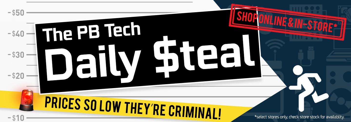 See today's Daily Steal at PB Tech! - PBTech co nz