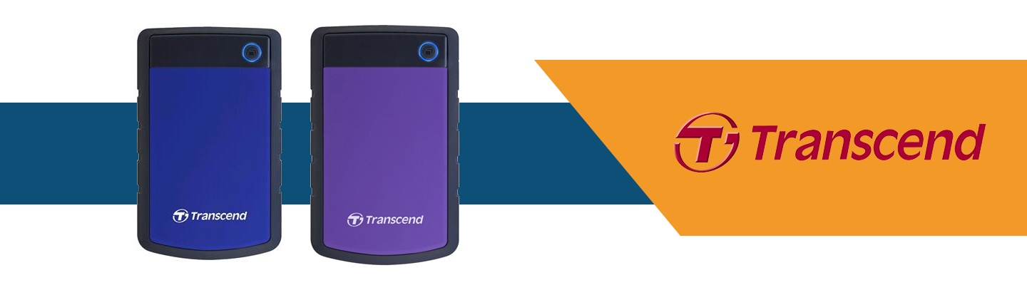 Picture of Transcend Portable Hard Drives at PB Tech