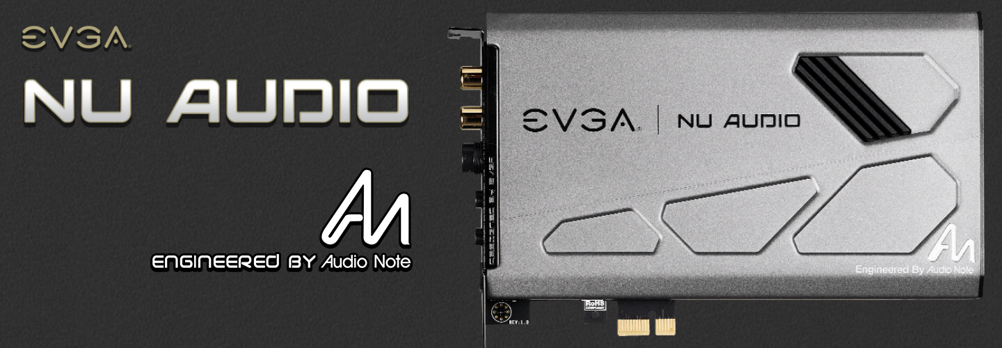 Buy the EVGA NU Audio Studio and Audiophile Grade Sound Card, (  712-P1-AN01-KR ) online