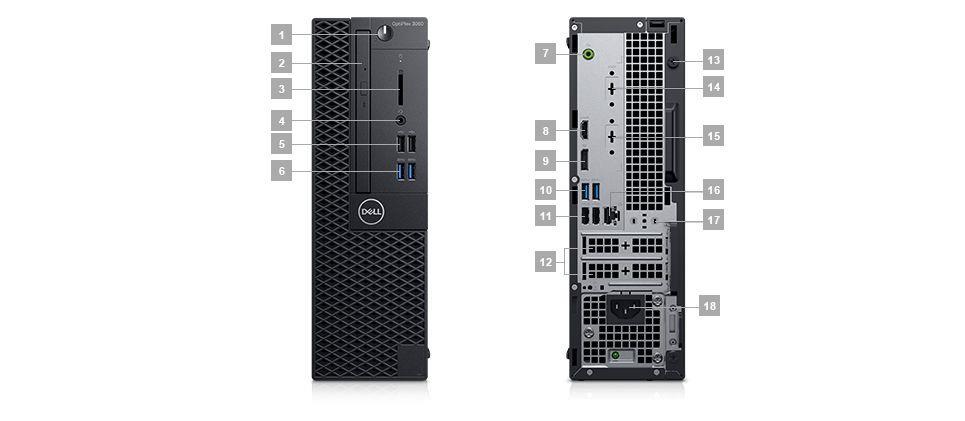 Buy the Dell Optiplex 3060 SFF Series i3-8100 3 6 GHz, 8GB