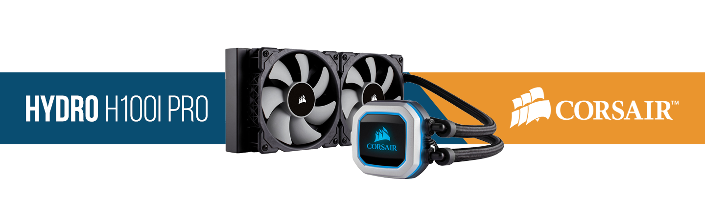 Picture of Corsair Hydro Series H100I AIO Water Cooling Kit at PB Tech