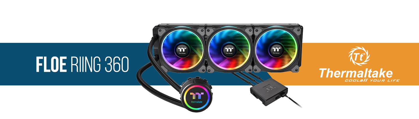 Picture of Thermaltake Floe Riing 360 AIO Water Cooling at PB Tech