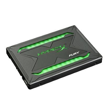 Buy the Kingston HyperX Fury RGB 480GB 2 5