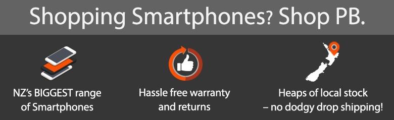 Buy Mobile Phones / Smartphones, NZ's Biggest Range - PBTech