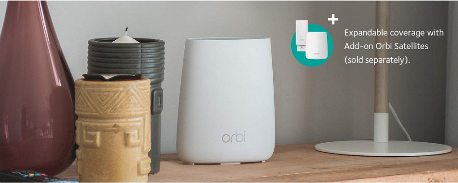 Buy the NETGEAR Orbi RBR20 MU-MIMO Tri-Band AC2200 Wi-Fi