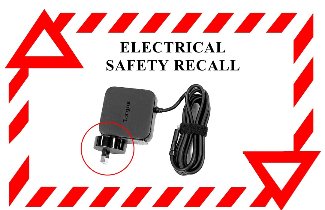 Targus Laptop Wall Charger Product Recall