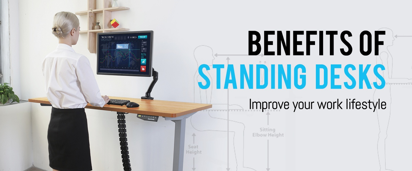 Stupendous 5 Health Benefits Of Standing Desks Pbtech Co Nz Download Free Architecture Designs Scobabritishbridgeorg