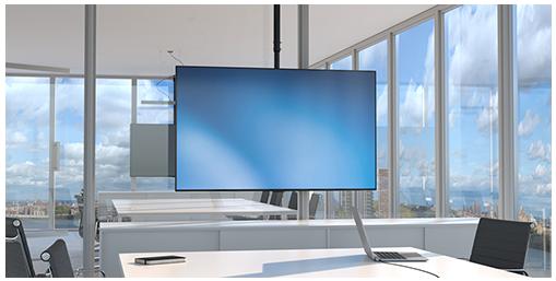 Buy the StarTech FPCEILPTBSP Flat Screen TV Ceiling Mount - Short