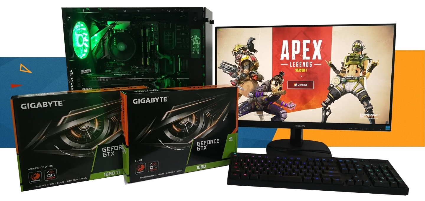 Build a Gaming PC for Apex Legends with GTX 1660 at PB Tech