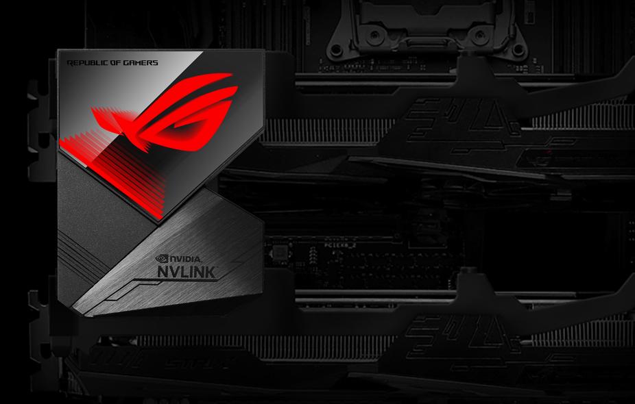 Buy the ASUS ROG NVLink Bridge with Aura Sync RGB- 3 Slot ( ROG