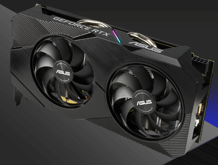 Buy the ASUS GeForce RTX 2060 Dual OC Graphics Card 6GB GDDR6,GPU
