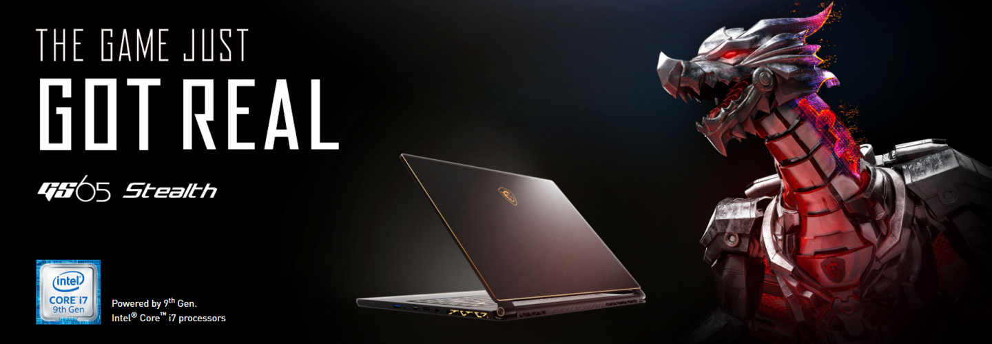 Buy the MSI GS65 Stealth RTX 2070 Gaming Laptop 240Hz 15 6