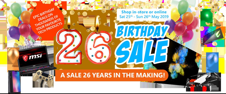 1fff1bd494c00 PB s 26th Birthday Sale - PBTech.co.nz