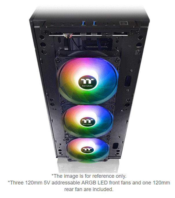Buy the Thermaltake Level 20 MT TG ARGB 3 Fan Mid-Tower case ( CA