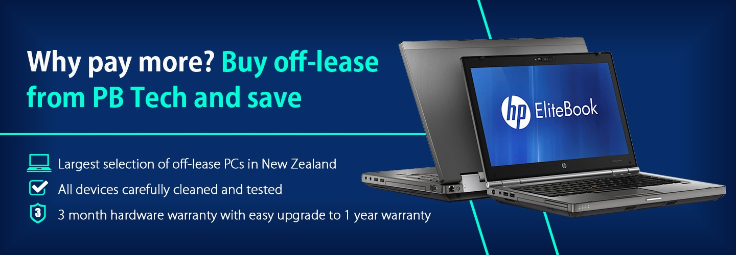 Off-Lease / Second Hand PCs, Laptops and Monitors - PBTech co nz