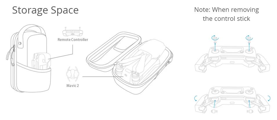 Buy the PGYTech Mini Carrying Case for MAVIC 2 ( P-HA-032