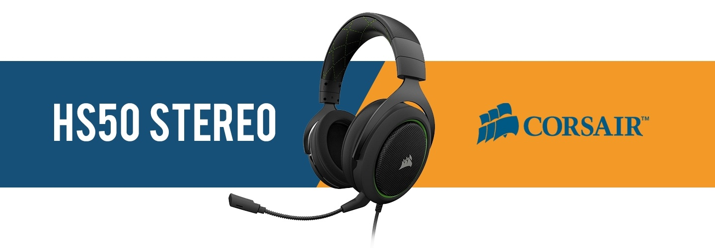 Picture of Corsair HS50 Gaming Headset at PB Tech