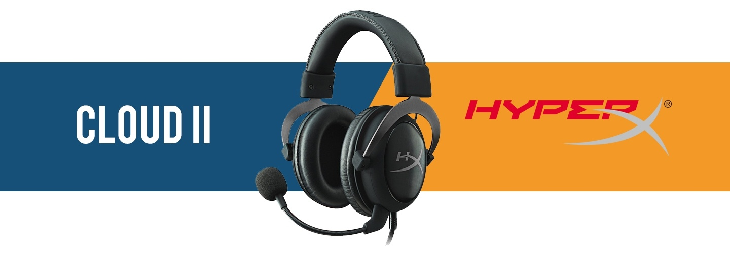 Picture of HyperX Cloud II Gaming Headset at PB Tech