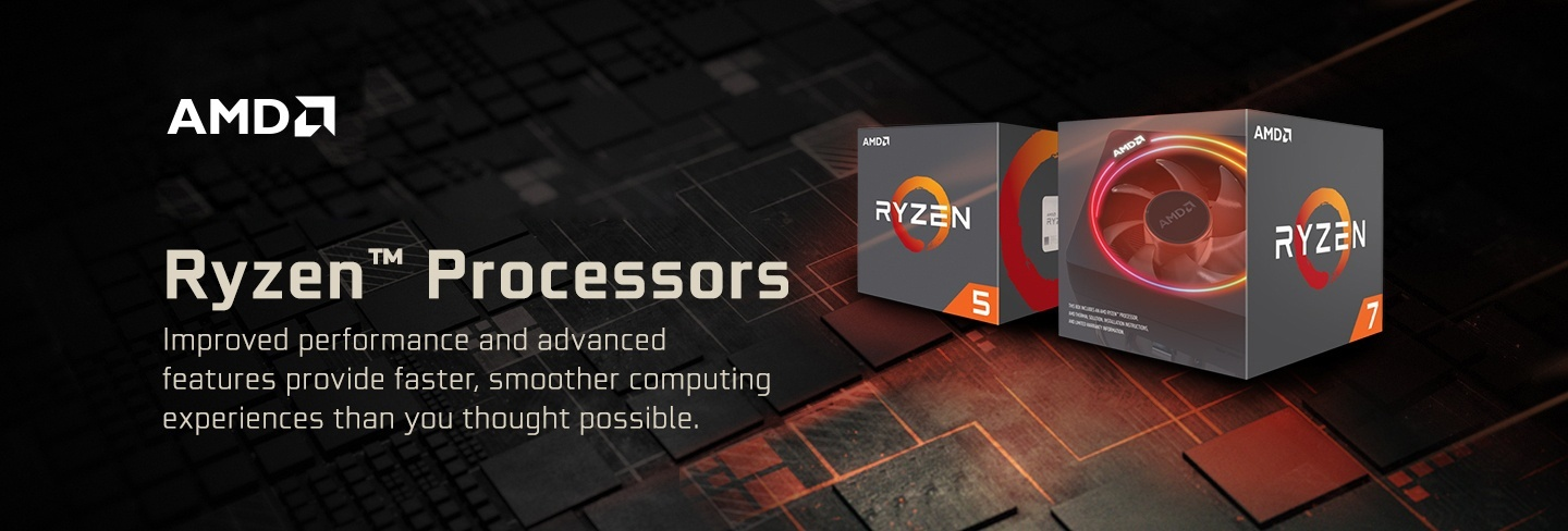 Picture of AMD Ryzen CPU at PB Tech