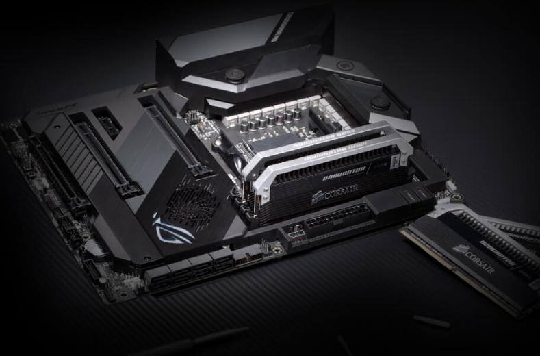 ASUS ROG CROSSHAIR VIII HERO(WI-FI) X570 ATX For AMD Ryzen 2nd/3rd Gen  CPU,AM4, 2XM 2, 3XPCIE4 0 X16, 1XPCIE X1, 11XUSB, 1XType C, LAN, AC Wifi+  BT,