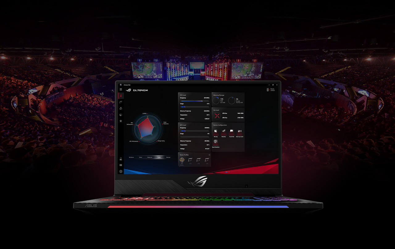 Buy the ASUS ROG Strix GL504GW RTX 2070 Gaming Laptop 15 6