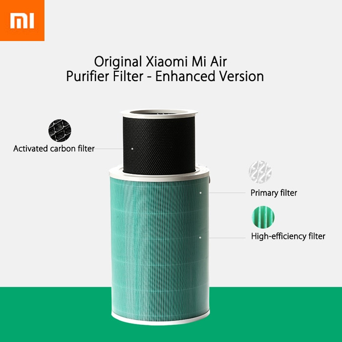 Original Xiaomi Mi Air Purifier Formaldehyde Removal Filter Cartridge - Enhanced Version- Green