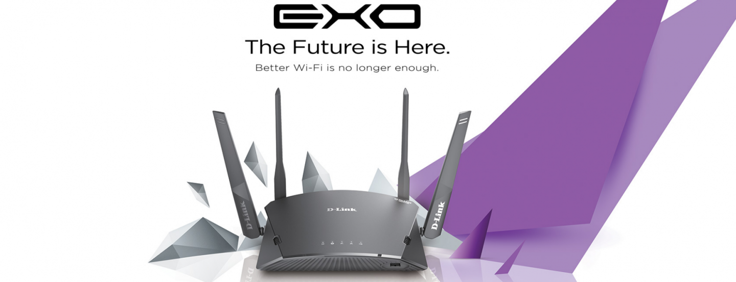 Buy the D-Link EXO DIR-1760 Gigabit Smart MeshWi-Fi Router, MU-MIMO,  Dual-Band    ( DIR-1760 ) online