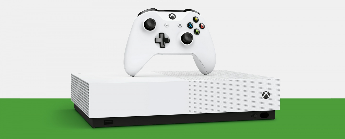 Picture of Xbox One S ALL DIGITAL console at PB Tech