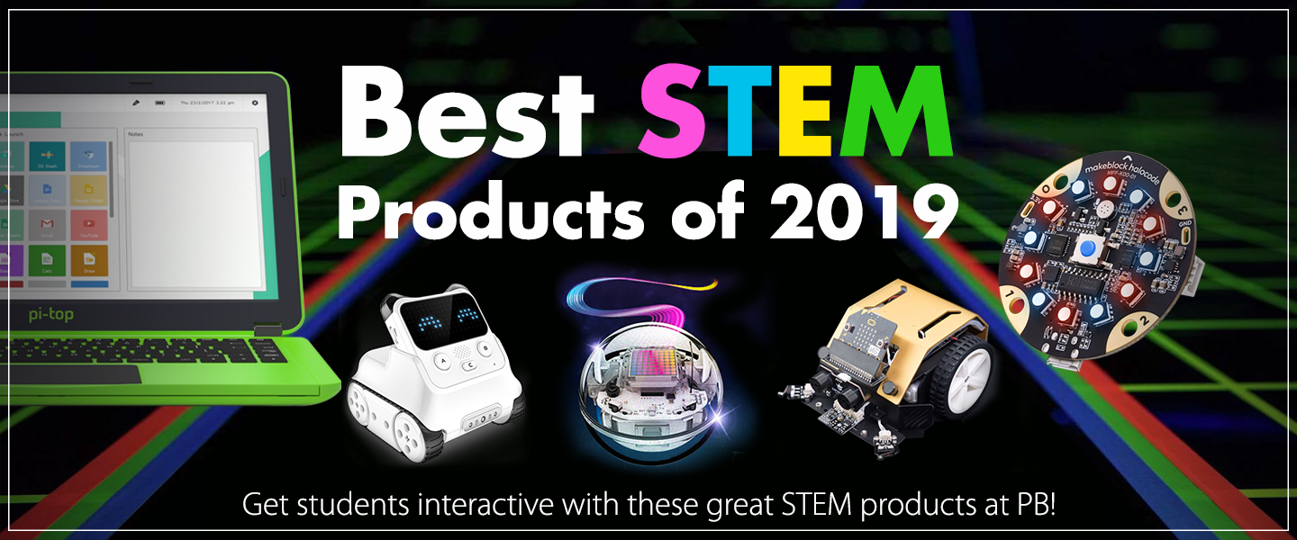 Best STEM Products of 2019 at PB Tech