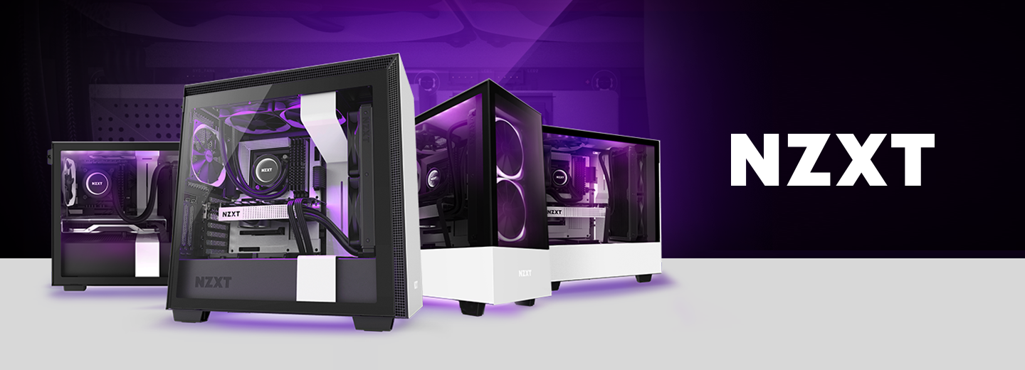 Picture of NZXT Gaming PC builds at PB Tech