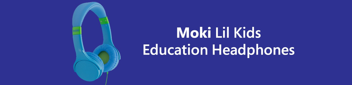 Moki Lil Kids Education Headphones