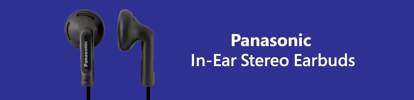 Panasonic In-Ear Stereo Earbuds