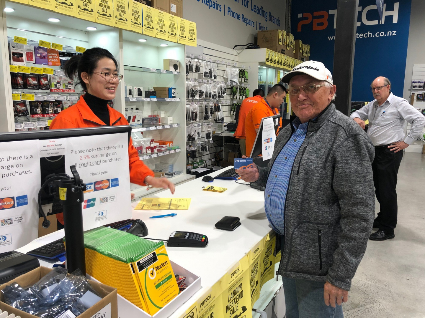 Albany Grand Opening Sale Prize Winners Pbtech Co Nz