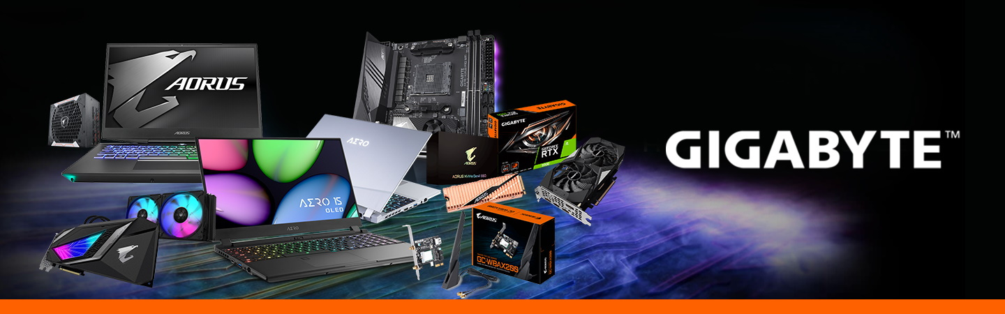 Shop Gigabyte Aorus Products at PB Tech