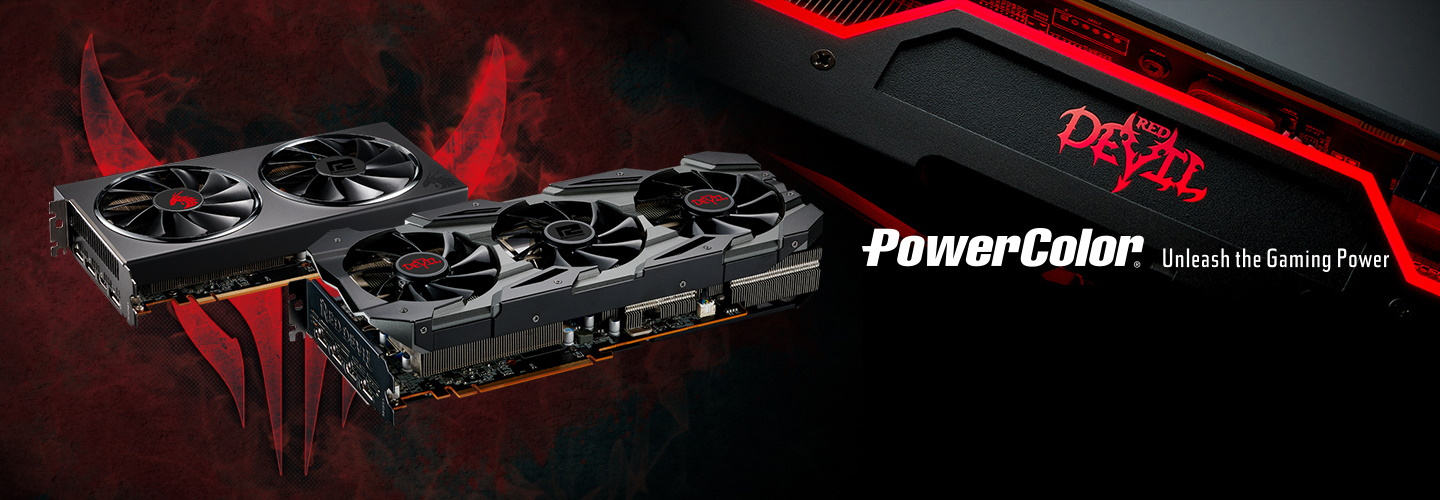 Picture of PowerColor Graphics Cards at PB Tech