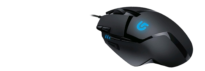 Picture of G402 gaming mouse at PB Tech