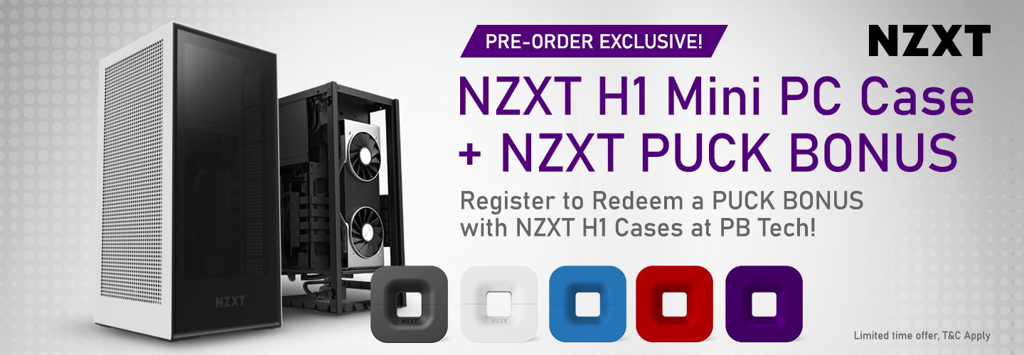 Picture of NZXT H1 Mini PC Case with PUCK Bonus at PB Tech