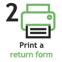 print label icon