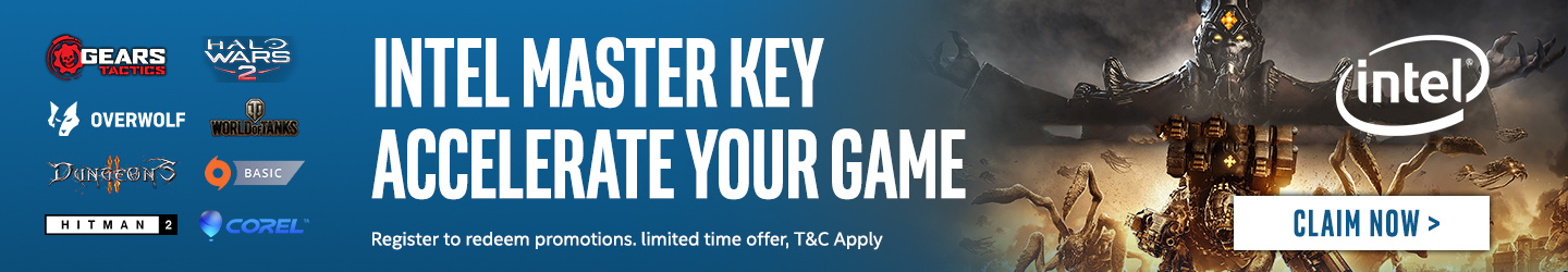 Learn more about Intel Master Keys at PB Tech