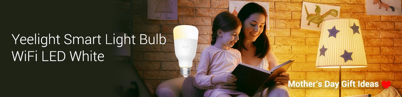 Mother's Day Gift Ideas at Mi Store - Yeelight Smart Light Bulb