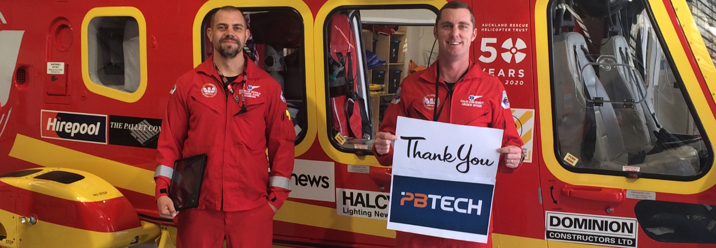 Picture of Auckland Rescue Helicopter Trust and PB Tech