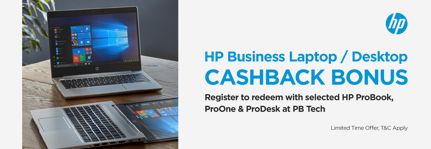 Picture of HP Cashback with ProBook Business Laptops at PB Tech