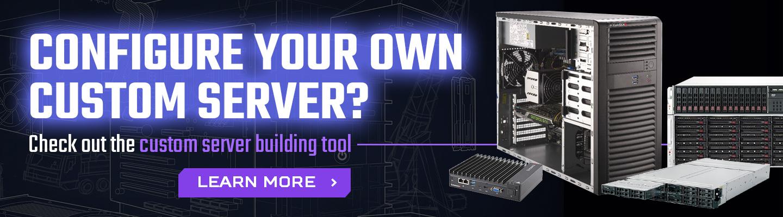 custom built server