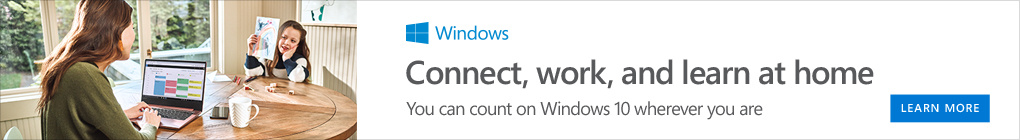 Do great things with windows 10 banner