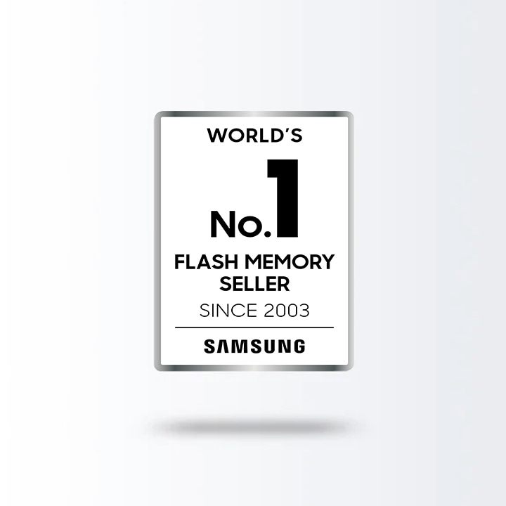 World's No.1* Flash Memory Seller